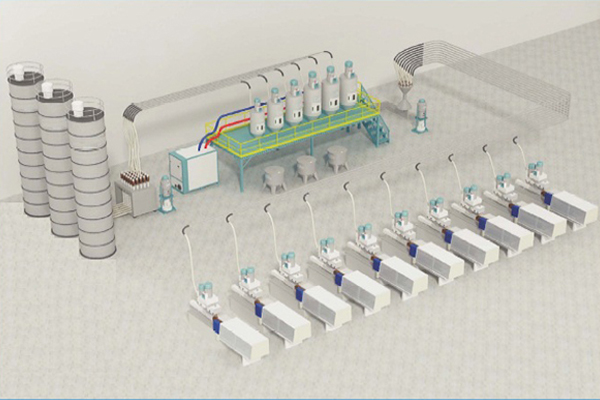 Plastik Hammadde Taşıma ve Yükleme Sistemleri